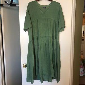 c9f02d0352 Zara Dresses - Zara oversized linen dress